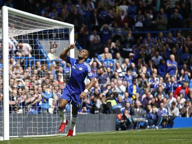 Didier Drogba has been a legend at Chelsea, won four Premier League titles among 14 trophies during his stay at the club. Reuters