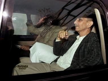 Dineshwar Sharma arrived in Kashmir four days ago. PTI
