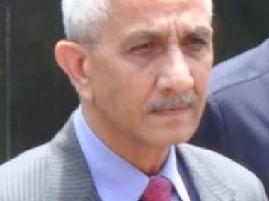 File image of Dineshwar Sharma. Image courtesy: Twitter/@AIR
