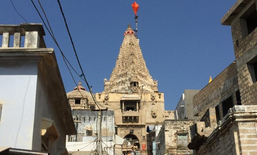 The Dwarka temple. Firstpost/Amitesh