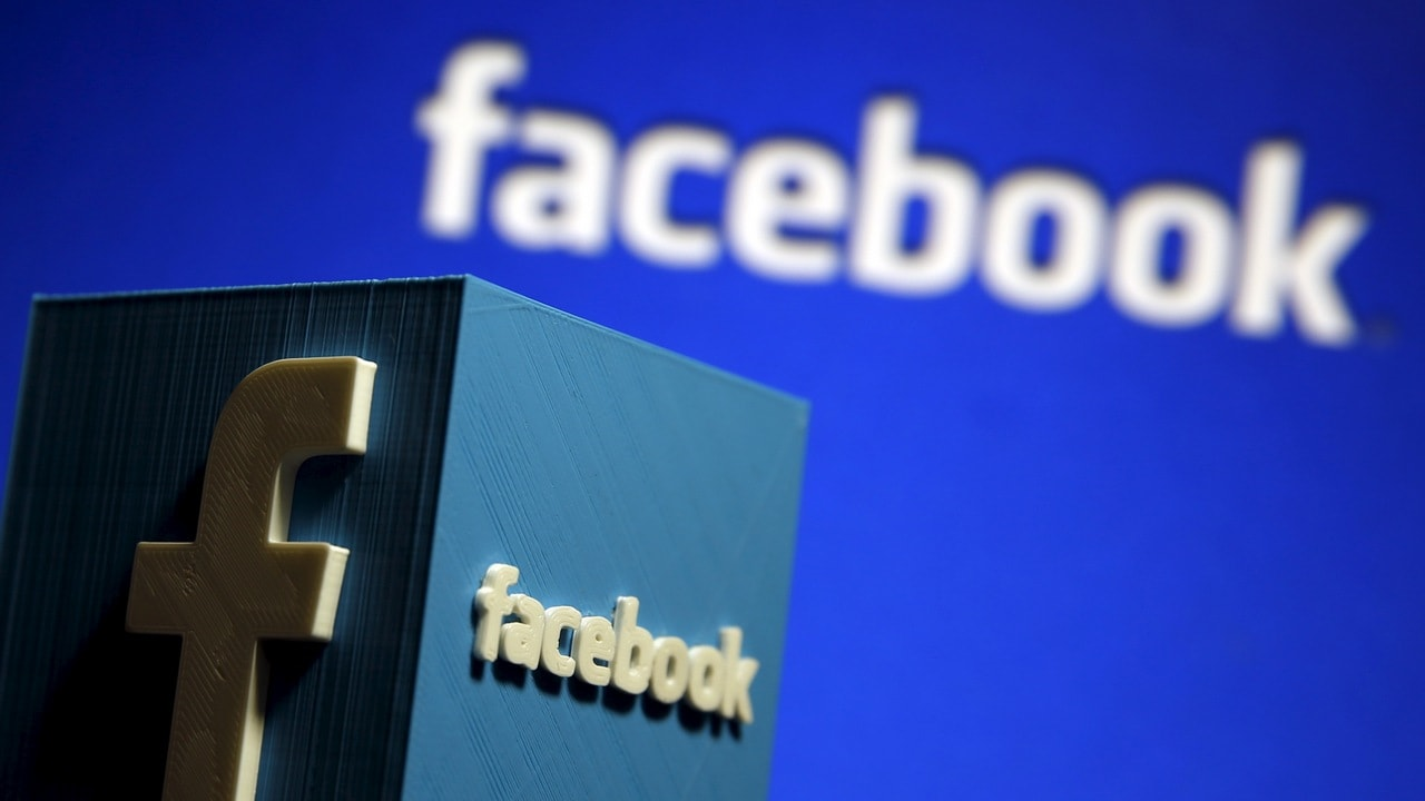 A 3D plastic representation of the Facebook logo is seen in this illustration in Zenica, Bosnia and Herzegovina, May 13, 2015. Facebook announced deals with nine publishers -- including NBC News, the New York Times and BuzzFeed -- to deliver select articles