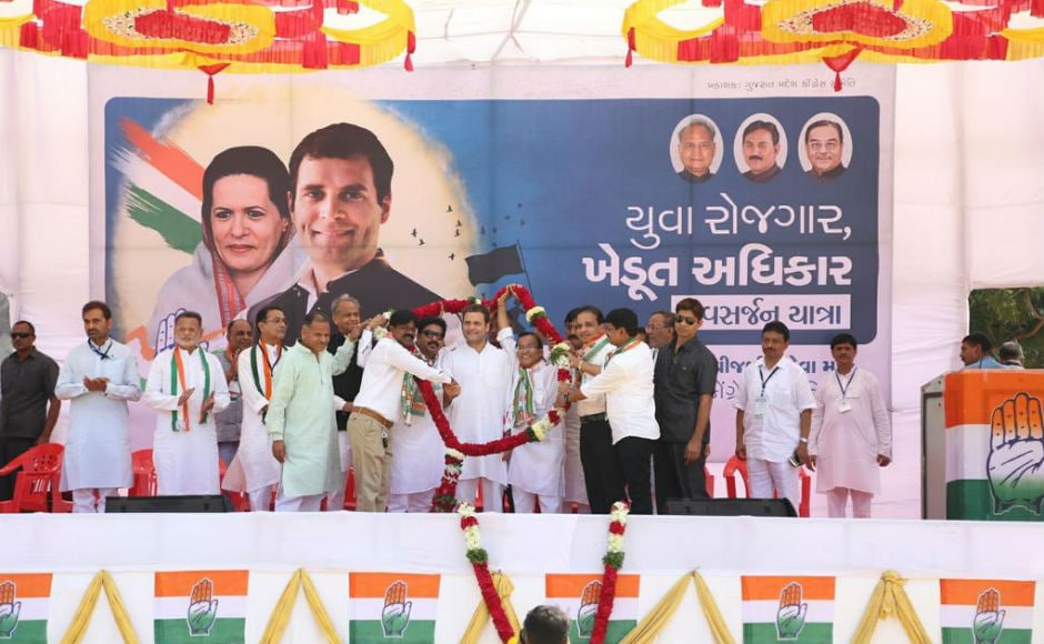 Congress vice-president Rahul Gandhi on Friday wound up his three-day tour of south Gujarat with a rally in Surat and Valsad where he targeted the BJP, Prime Minister Narendra Modi and party president Amit Shah. Twitter/@OfficeofRG