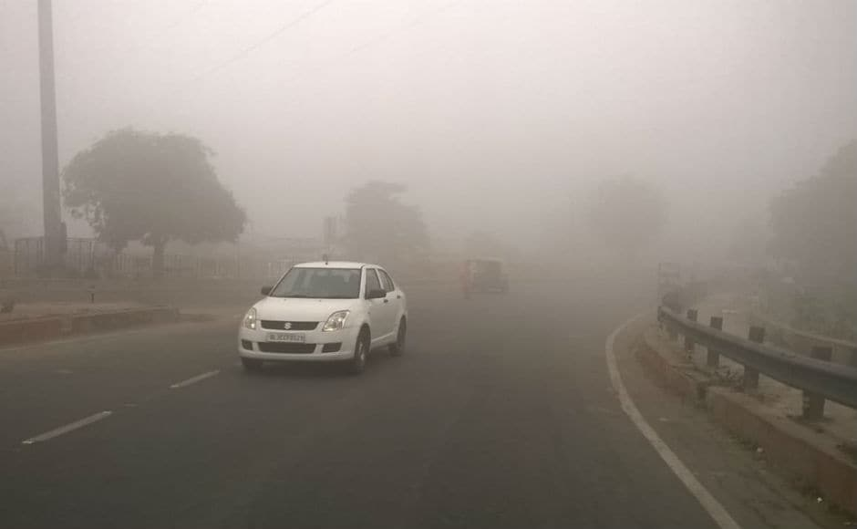 Most of the areas show pollution levels much above 'severe' limits, forcing the Delhi government to declare a holiday for primary schools on Wednesday. Firstpost/Vivek Anand
