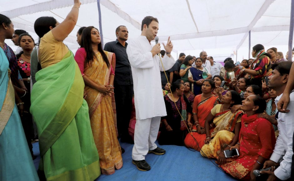 Congress has truth on its side, will win Guj polls: Rahul