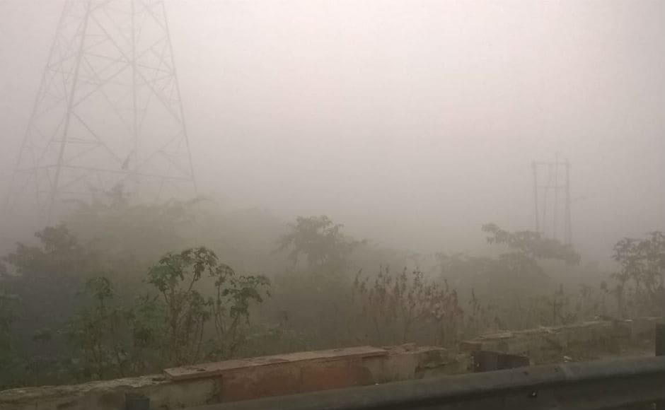 Pollution level was also worse in neighbouring Ghaziabad and schools were shut down. Construction activities will be also be closed in the region due to declining air quality. Firstpost/Vivek Anand