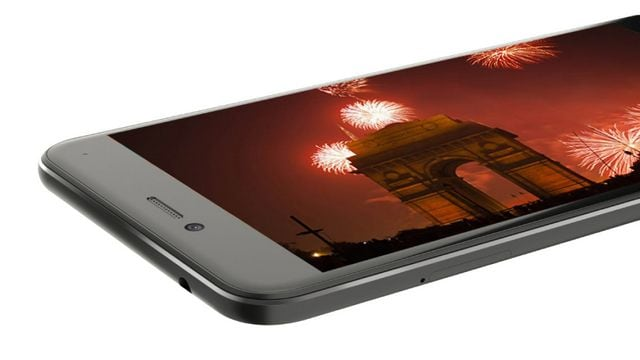 A view of the display on the Billion Capture +. Image: Flipkart