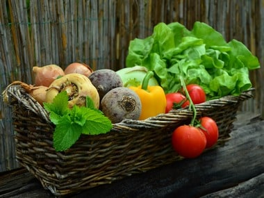 Fresh vegetables. CISRO