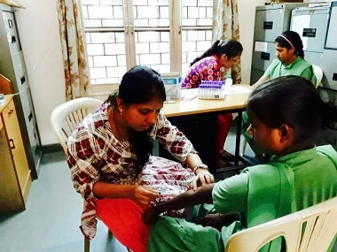 A medical camp by the Sickle Cell Awareness Team in Bharuch district of Gujarat. Firstpost/Pallavi Rebbapragada