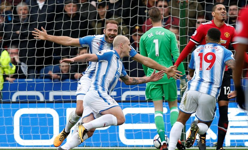 Huddersfield shocked Manchester United in the Premier League. Reuters
