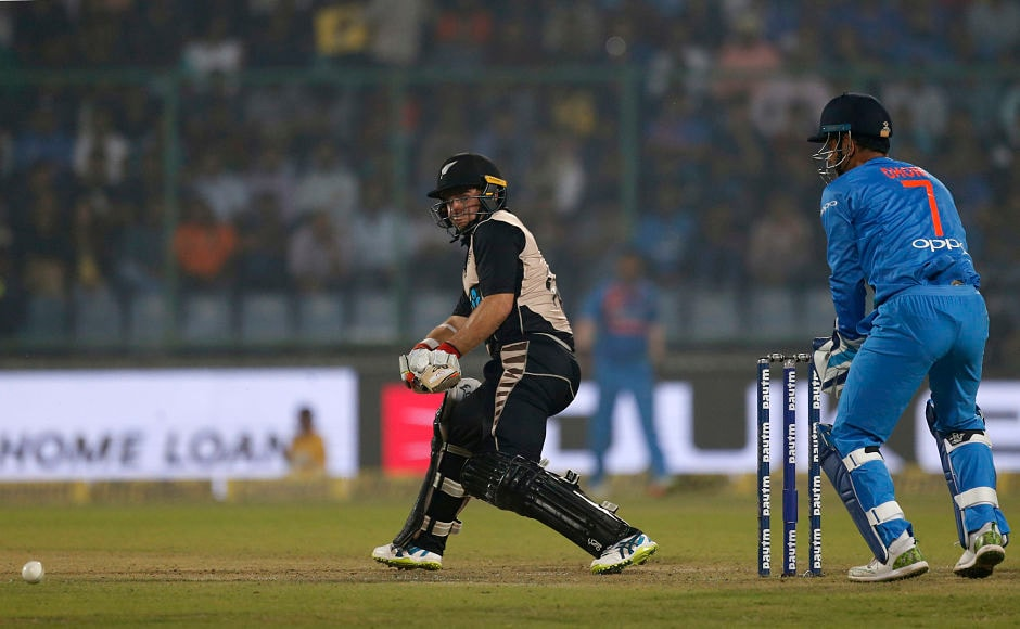 Tom Latham waged a one-man war against the Indian bowler but without adequate support from his teammates, the Kiwi wicketkeeper was always fighting a losing battle. AP