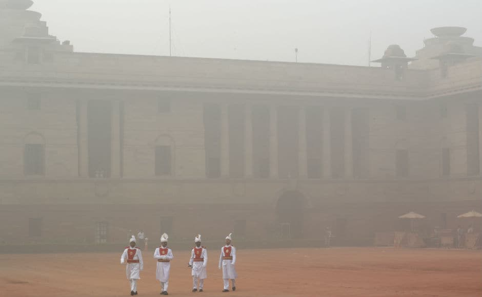 Indian Medical Association (IMA) declared the city in a public health emergency state and urged schools to stop all outdoor activities to keep children out of hazardous air pollution. AP