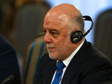 File image of Iraq's prime minister . AP