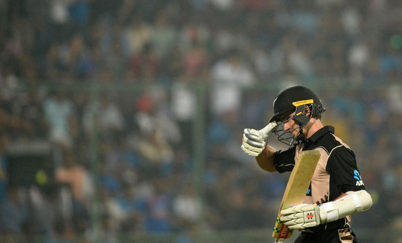 Kane Williamson hjad a T20I series to forget as he struggled to get among the runs in India. AFP