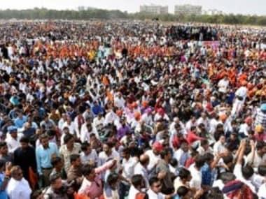 File image of Karni Sena protests against the release of the film Padmavati. PTI