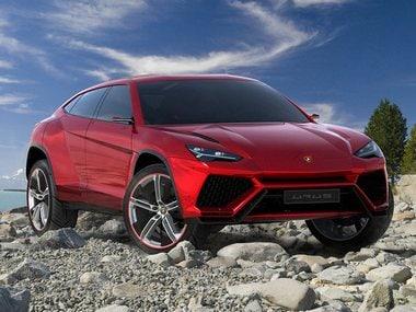 The Lamborghini Urus concept
