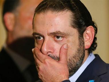 File image of ex-Lebanon prime minister Saad Hariri. AP