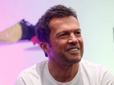 Former German soccer player Lothar Matthaus smiles during a news conference promoting a sports event in Mexico City, Mexico, June 4, 2016. REUTERS/Edgard Garrido - S1AETIBYSHAD