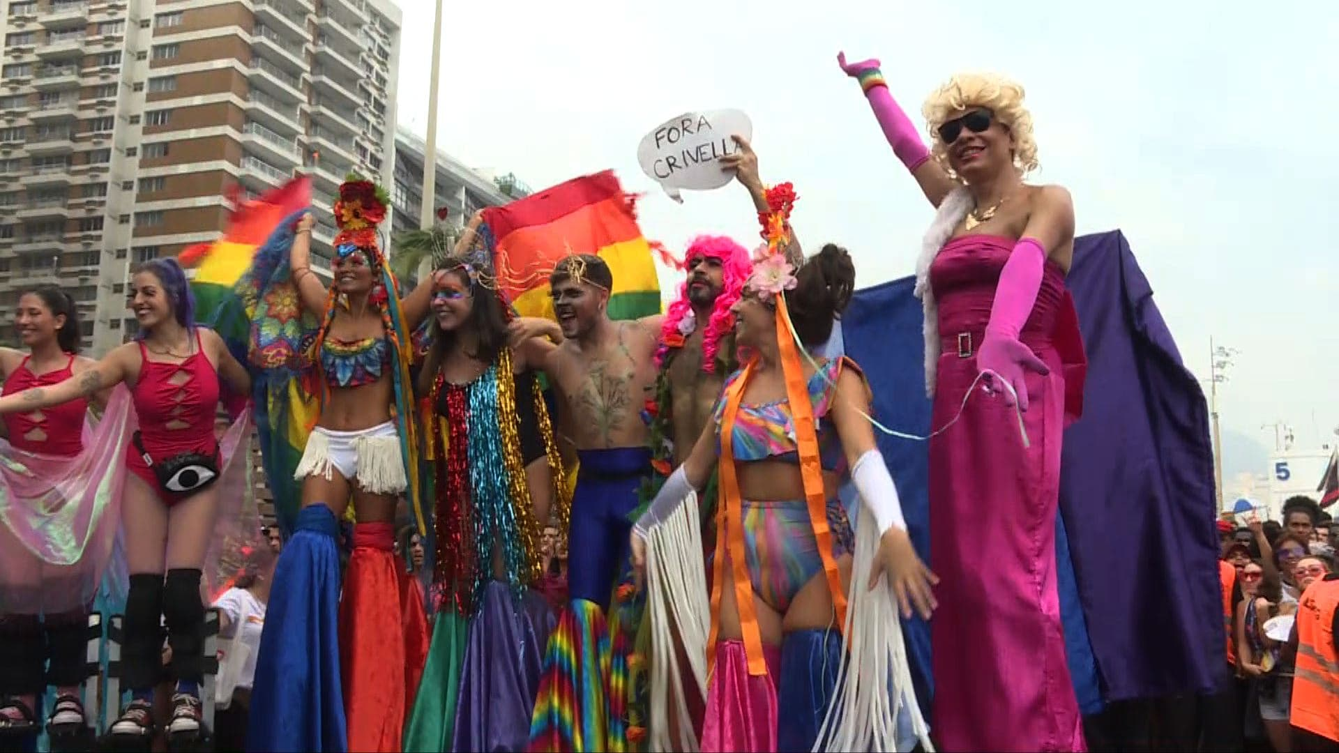 Rio's gay pride marches on despite conservative opposition