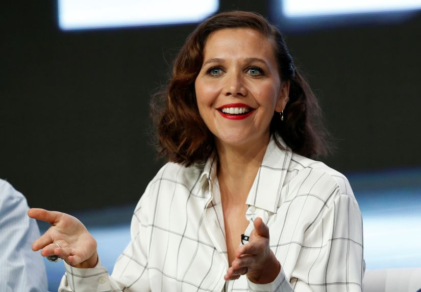 """Producer and cast member Maggie Gyllenhaal attends a panel for the television series """"The Deuce"""" during the TCA HBO Summer Press Tour in Beverly Hills, California, U.S., July 26, 2017. REUTERS/Mario Anzuoni - RC1C482F8DC0"""