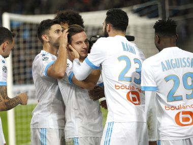 Ligue 1: Marseille, Lyon register thumping victories; Mario Balotelli sees red after netting winner for Nice