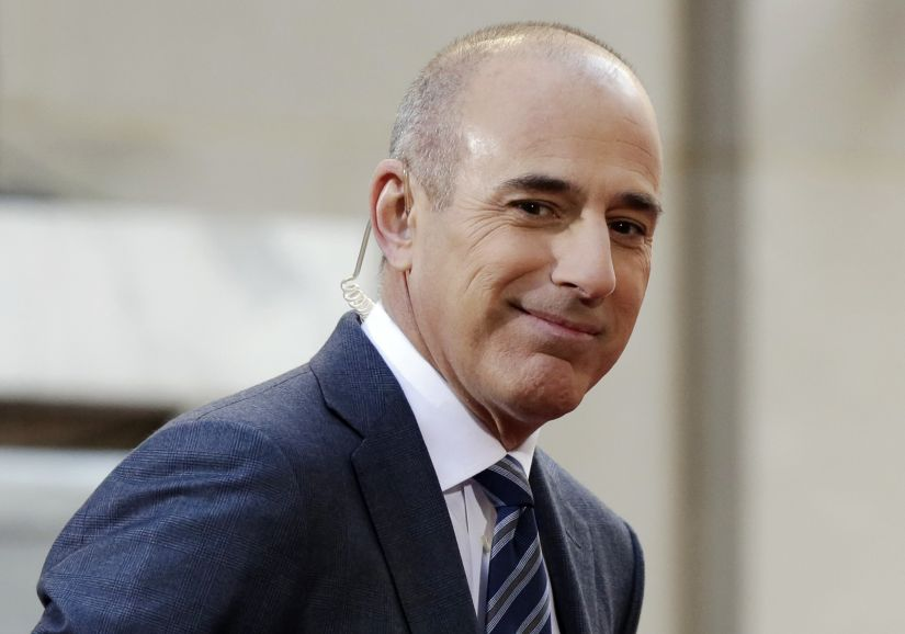 "FILE - In this April 21, 2016, file photo, Matt Lauer, co-host of the NBC ""Today"" television program, appears on set in Rockefeller Plaza, in New York. NBC News announced Wednesday, Nov. 29, 2017, that Lauer was fired for ""inappropriate sexual behaviour."" (AP Photo/Richard Drew, File)"