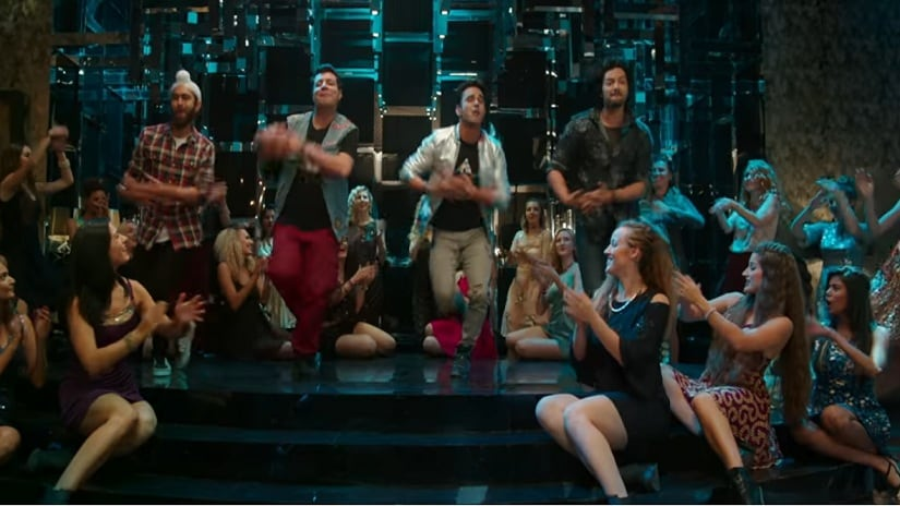 Still from the song 'Mehbooba' from Fukrey Returns. Screen grab via YouTube
