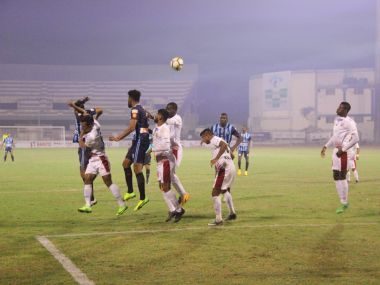 Minerva Punjab rescued a point against Mohun Bagan in the I-League opener. Image Courtesy: I-League