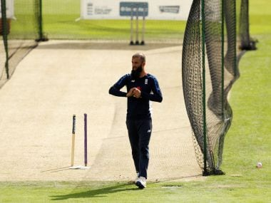 File image of England's Moeen Ali. Reuters