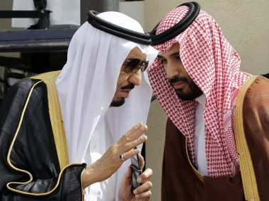 File image of King Salman (left) and Crown Prince Mohammed bin Salman. AP