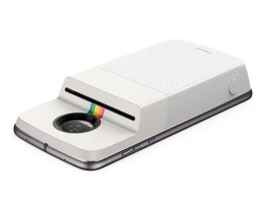 Motorola moto mod Polaroid Insta-Share Printer. Motorola