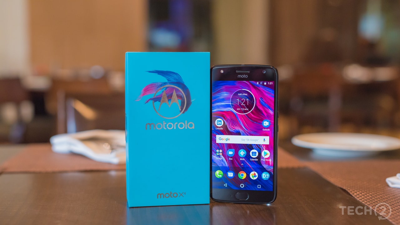The Motorola Moto X4 comes with Qualcomm's Snapdragon 630 octa-core chipset inside and will go on sale starting at 11:59 pm on 13 November. Image: tech2/ Rehan Hooda