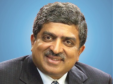 File image of Nandan Nilekani. Image courtesy - Infosys.