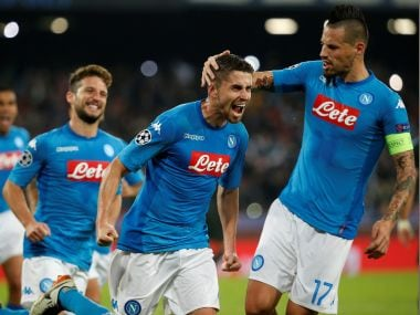 Napoli face Chievo after Champions League defeat to Manchester City . Reuters