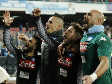 Napoli stayed four points clear at the top of Serie A with win over AC Milan. AFP