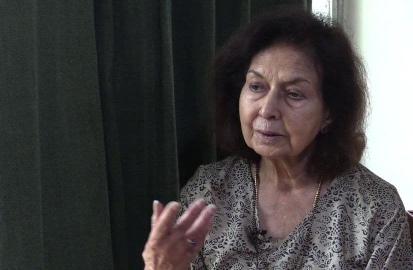 File image of Nayantara Sahgal. YouTube