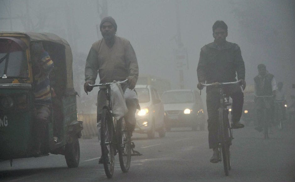 According to the Central Pollution Control Board (CPCB), high moisture level in the air has trapped emissions from local sources and hanging low over the city in the absence of wind leading to pollution increase. PTI