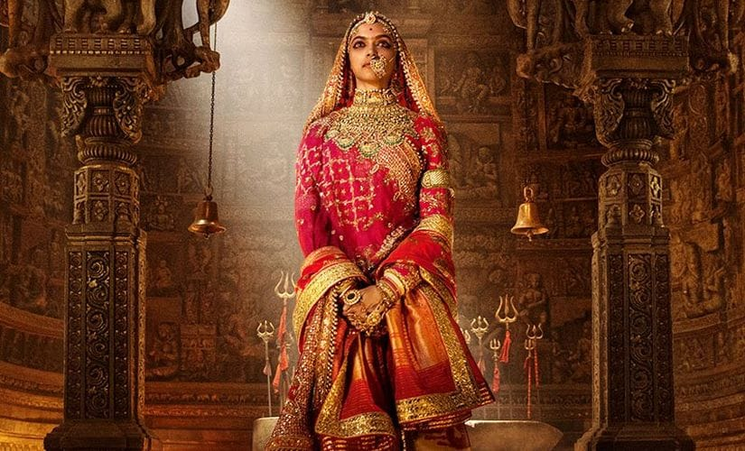 A still from the film with Deepika Padukone. Twitter/@FilmPadmavati
