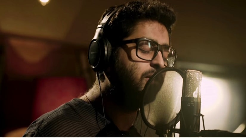 Arijit Singh in the Monsoon Shootout song 'Pal'. Screen grab via YouTube.