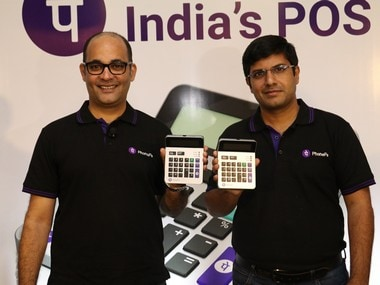 PhonePe co-founders Sameer Nigam - CEO (left) and Rahul Chari - CTO