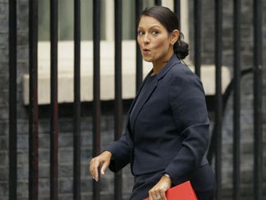 File image of Priti Patel. AP