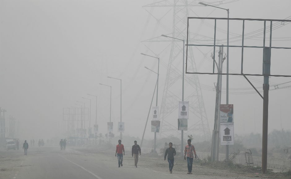 The 24-hour average air quality index (AQI) of the Central Pollution Control Board (CPCB) was 308 on Tuesday, which falls in the 'very poor' category, following a week-long smog episode when pollutants shot up to emergency levels. Reuters