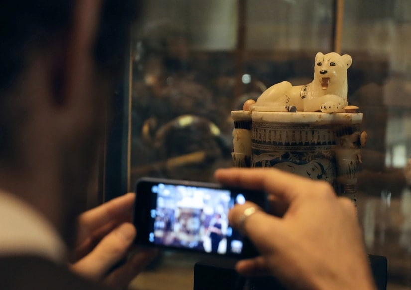 museums more specifically here, exist to remind people of their place in the world and preserve cultural heritage. REUTERS
