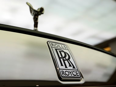 The Rolls Royce logo. Image: Reuters