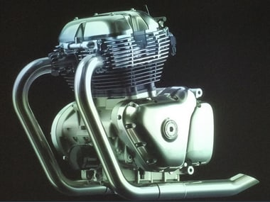 Royal Enfield 650 cc engine. Re-tweet @sidlal @SwatiKJain