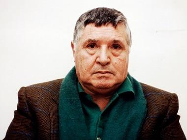 A file photo of arrested Sicilian mafia boss Toto Riina. Reuters