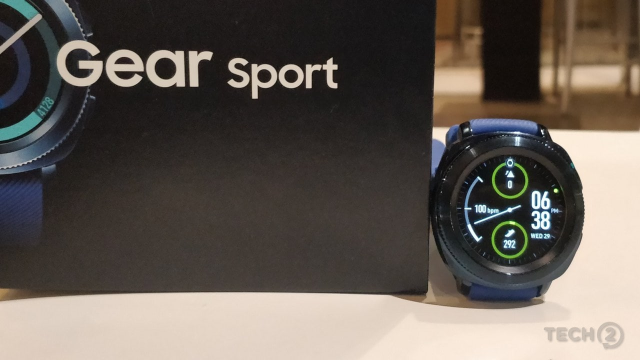 The Gear Sport features the Always On Display by Samsung