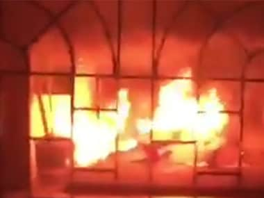 Students resort to arson over death of a girl at Sathyabhama University. News18