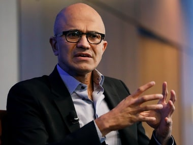 Microsoft CEO Satya Nadella. Reuters.