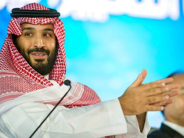 File image of Saudi Arabia's Crown Prince Mohammed bin Salman. AP