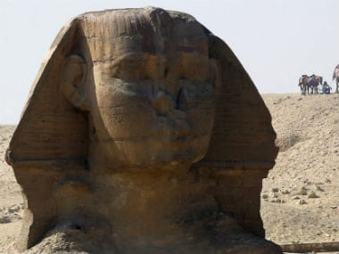 Mythical creatures like the Sphinx are examples of how animals were worshipped in ancient religions. Reuters